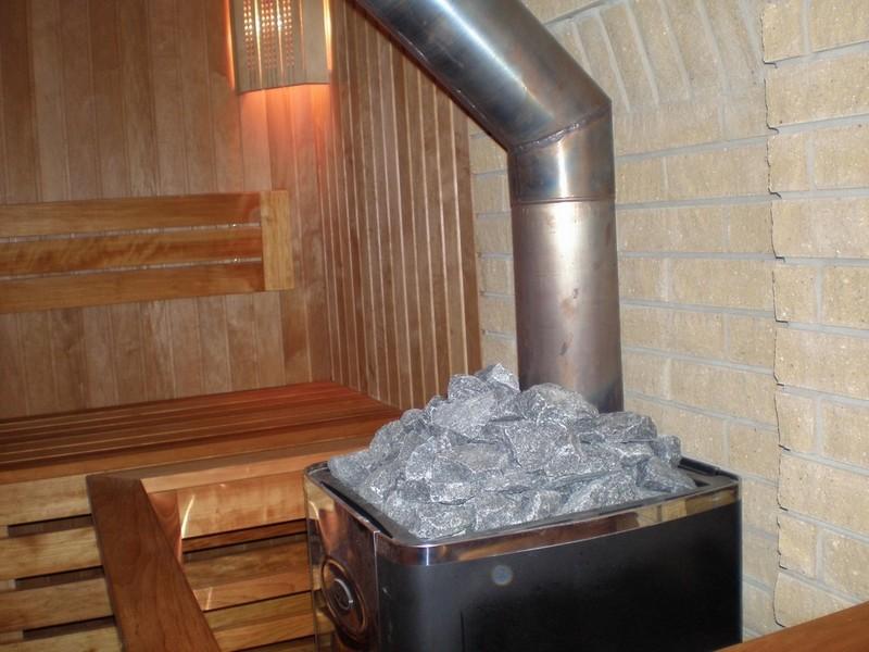как сделать печь для бани из металла фото
