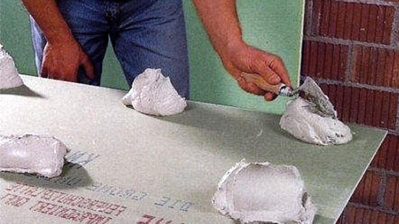 отделка кирпичных стен гипсокартоном фото