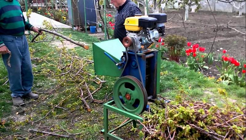 садовый измельчитель веток своими руками фото