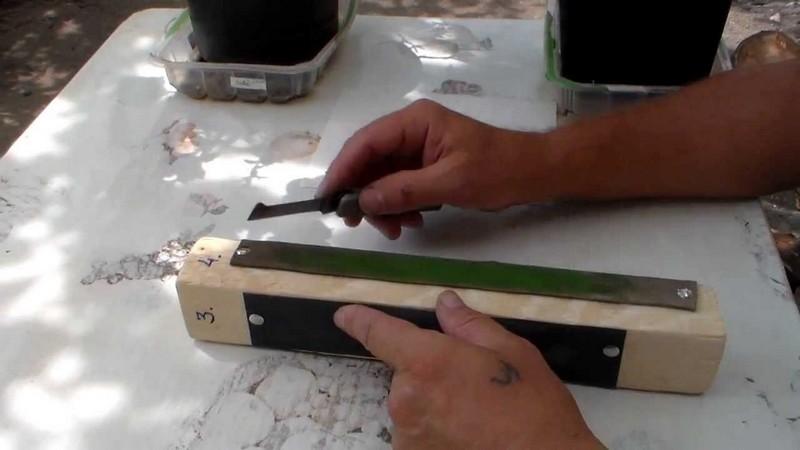 самодельный прививочный нож фото