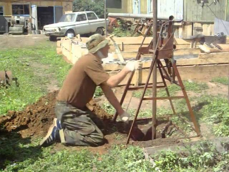 абиссинский колодец своими руками технология фото