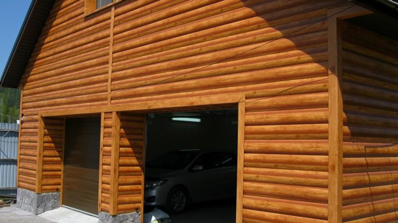 деревянный сайдинг фото