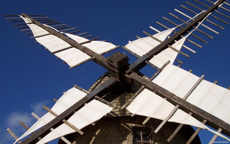 механизм ветряной мельницы фото