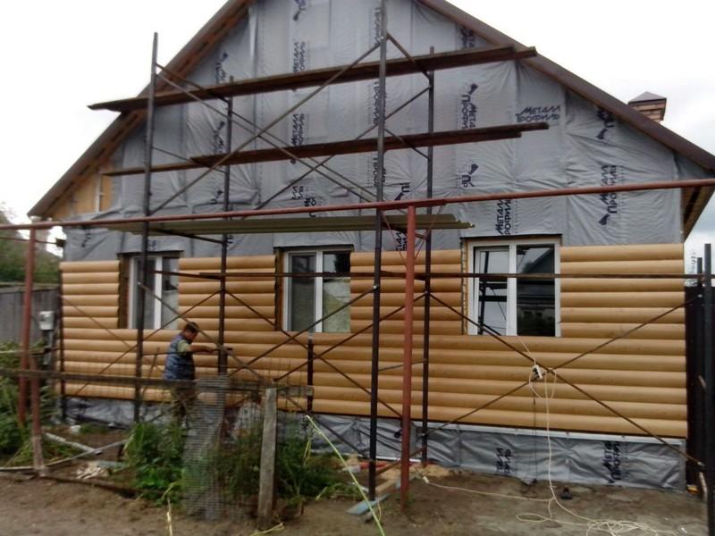 обшивка деревянного дома снаружи фото