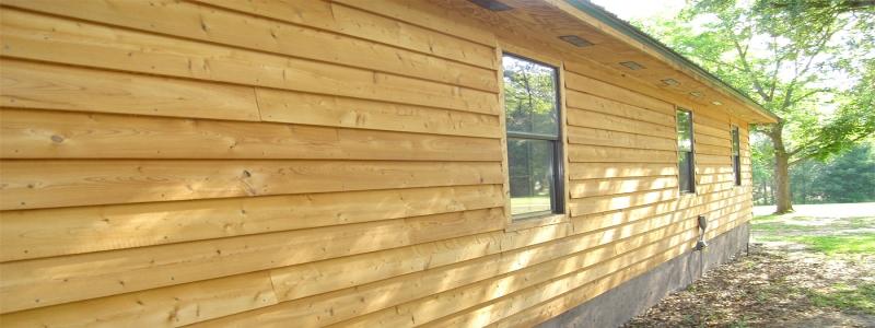 Деревянный сайдинг: особенности и выбор материала