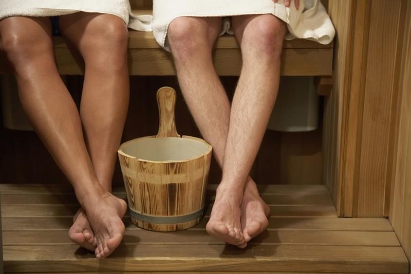 как правильно сделать теплый пол в бане фото