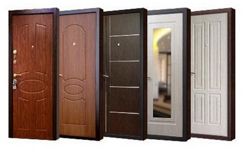стальные двери для дачи фото