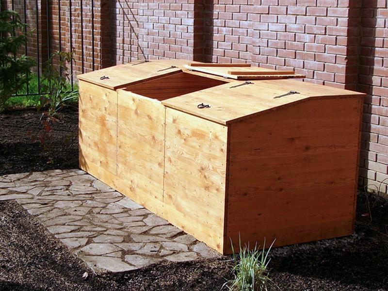 ящик для компоста на даче фото