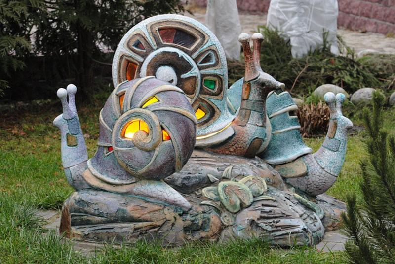 садовые скульптуры из цемента своими руками фото