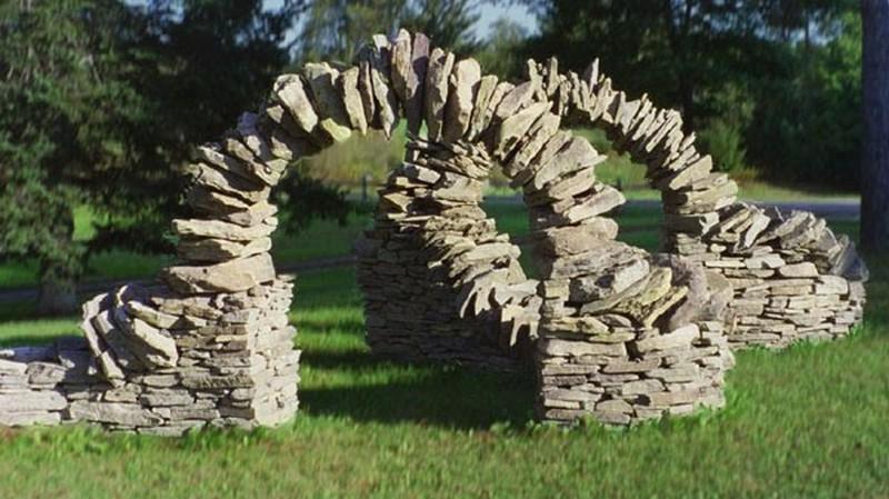 садовые скульптуры своими руками фото
