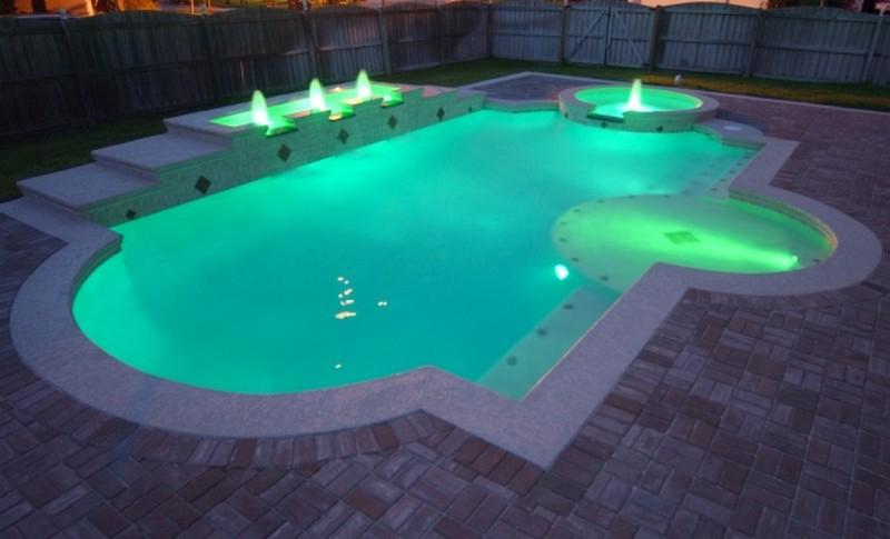 светильник для бассейна светодиодный фото