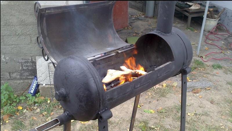 как построить барбекю фото