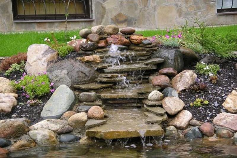 как сделать сад камней своими руками фото