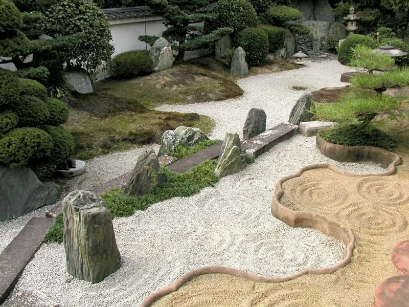 японский сад камней своими руками фото