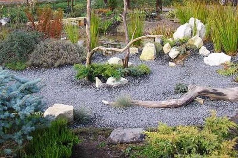 гравийный сад своими руками на даче фото