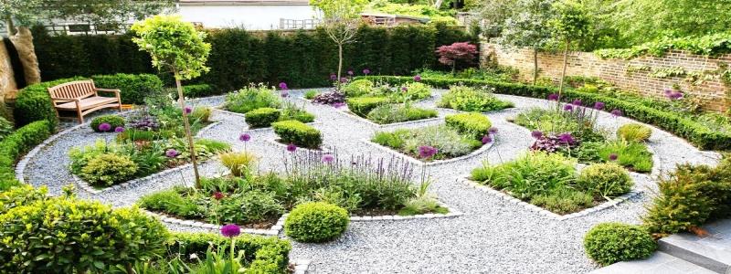 Гравийный сад: особенности самостоятельного изготовления