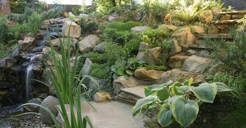лестница садовая фото