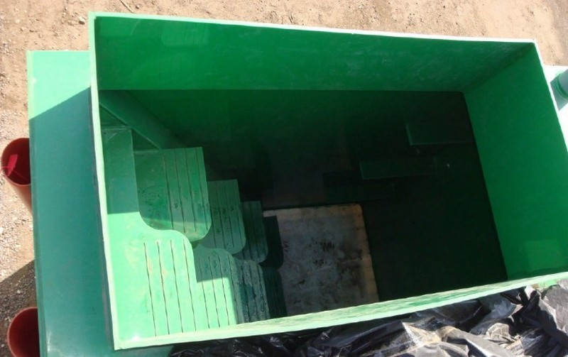 пластиковый кессон для погреба фото