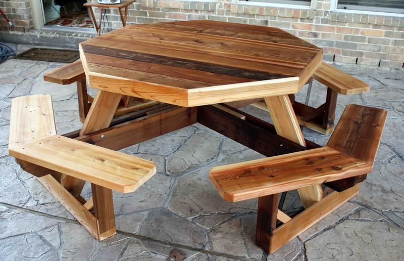 как сделать стол для пикника фото