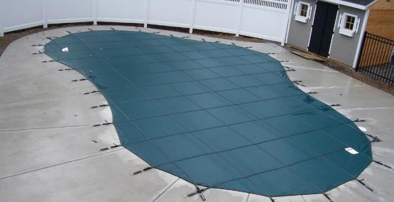 консервация уличного бассейна на зиму фото