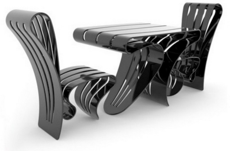 стильная мебель из пластика фото