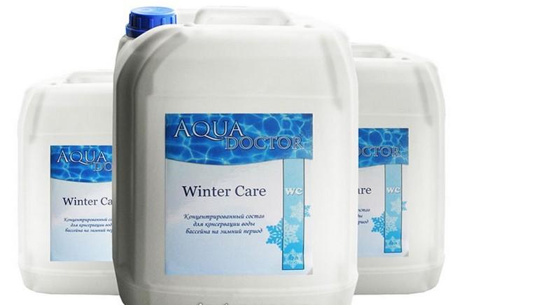 химия для консервации бассейна на зиму фото