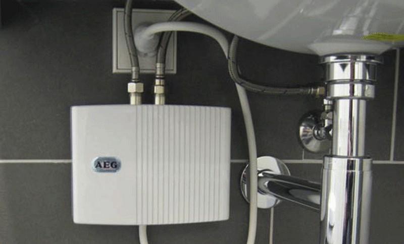 проточные водонагреватели для дачи фото