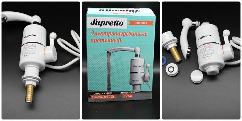 проточный водонагреватель для дачи кран фото