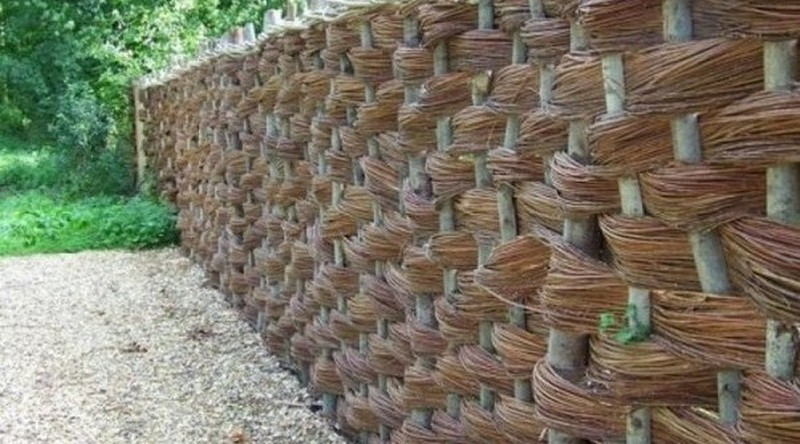 забор плетень фото