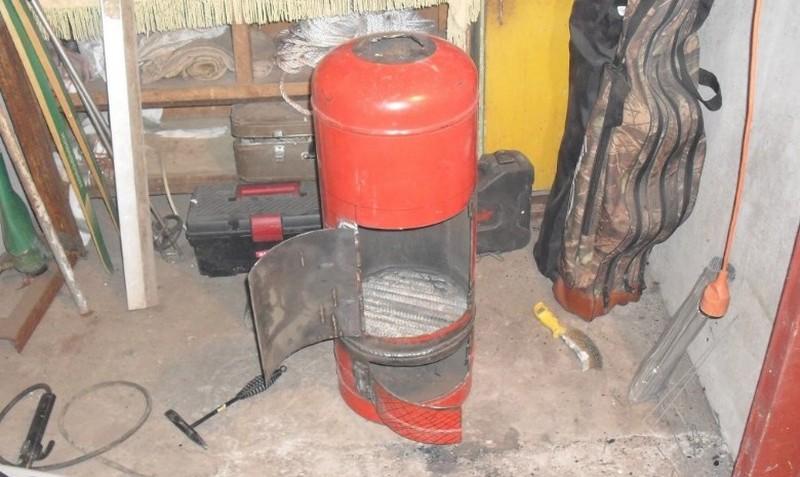 печка буржуйка для дачи фото