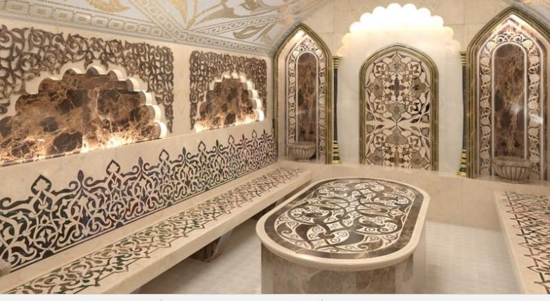 строительство бани хаммам фото