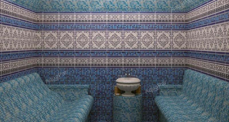 строительство турецкой бани фото