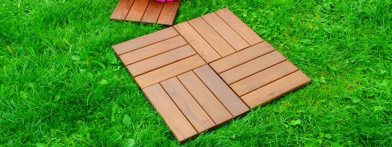 Садовый паркет: характеристики материала