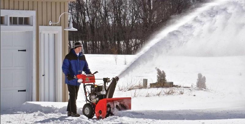 электрическая лопата для уборки снега фото