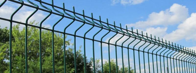 Забор из сетки гиттер: что это и самостоятельный монтаж