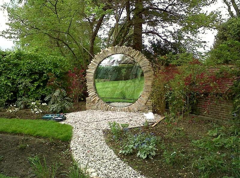 зеркальный декор из акрила фото
