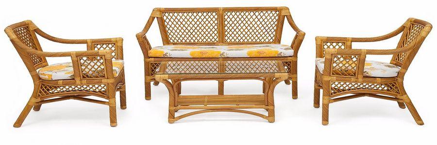 Плетеная мебель для дачи: природное очарование