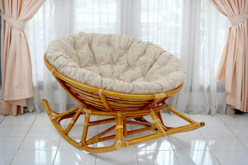 кресло качалка папасан фото