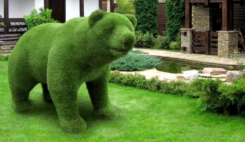 топиари в форме животных фото