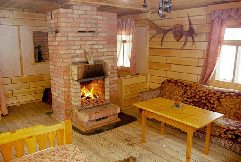дачный домик в деревенском стиле фото