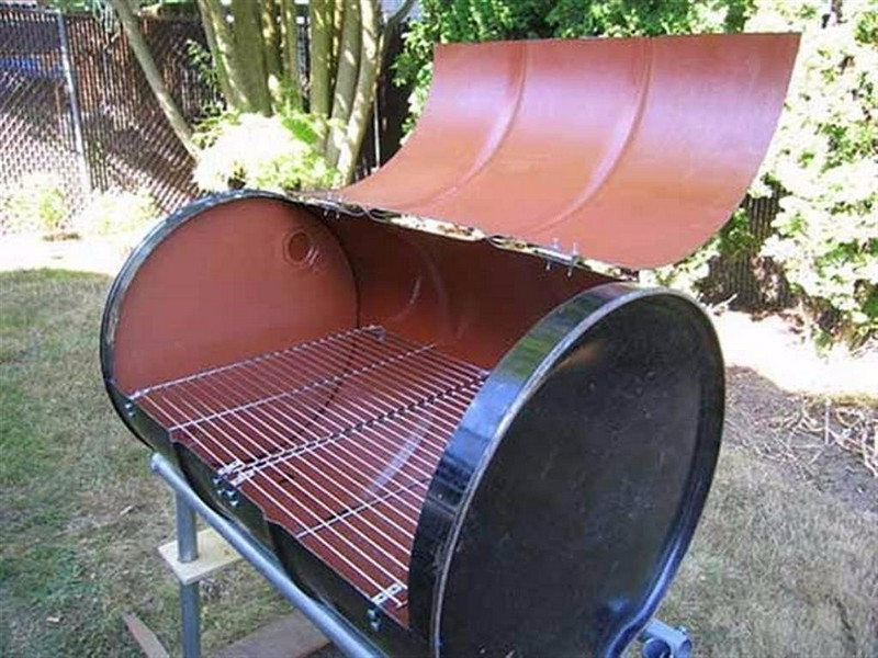 бочка барбекю фото