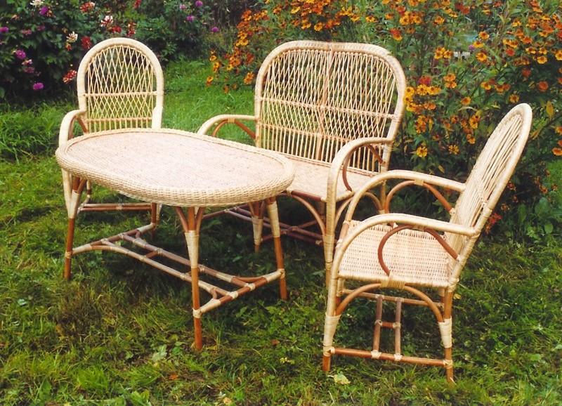 плетеные кресла для дачи фото