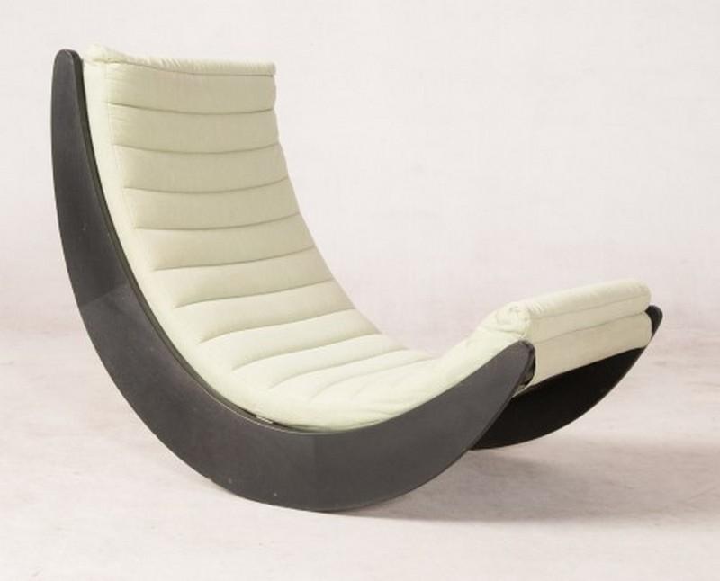 дизайнерское кресло качалка фото
