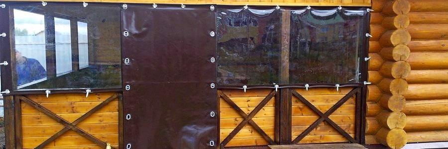 Мягкие окна для беседок и террас: необходимость для дачи