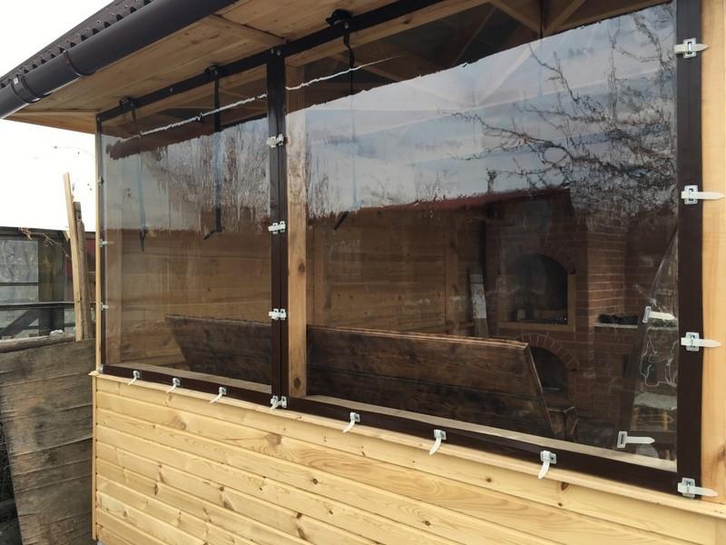 мягкие окна для беседок фото