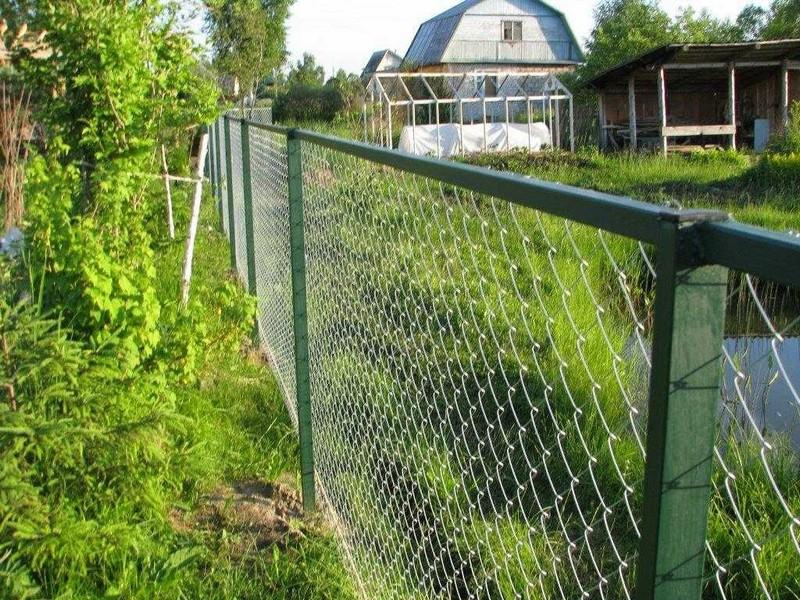 прозрачный забор из металла фото