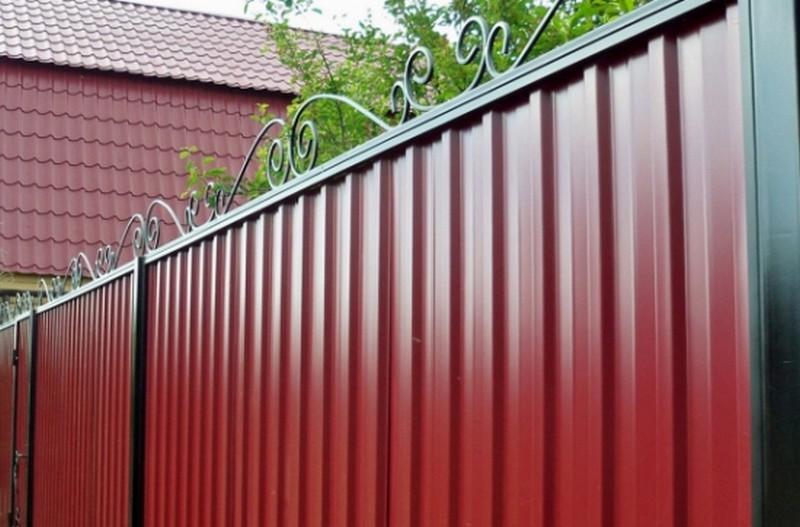 кованый забор для дачи фото