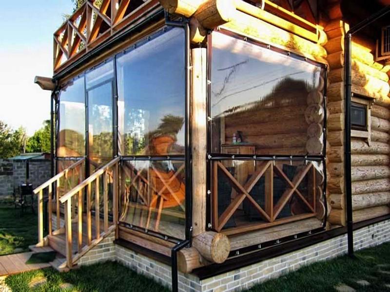 мягкие окна для беседки фото