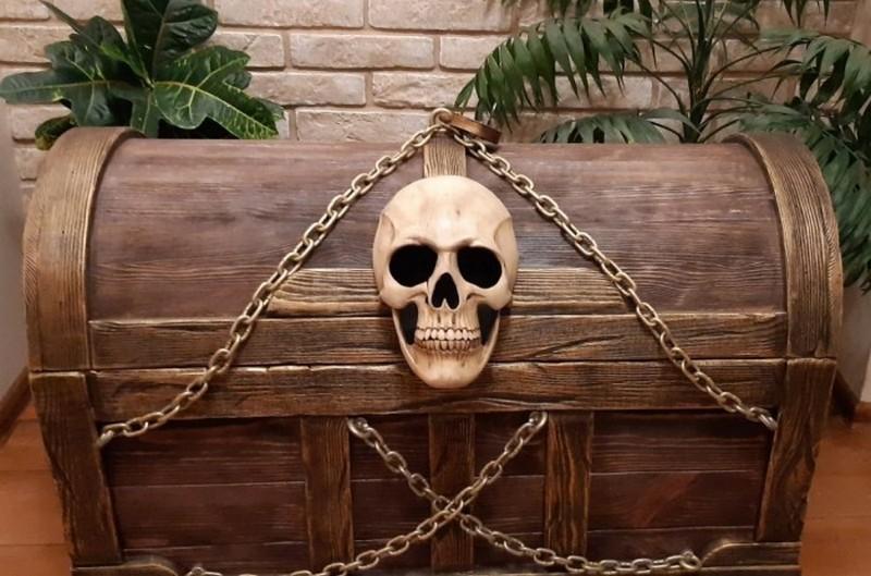 пиратский сундук фото
