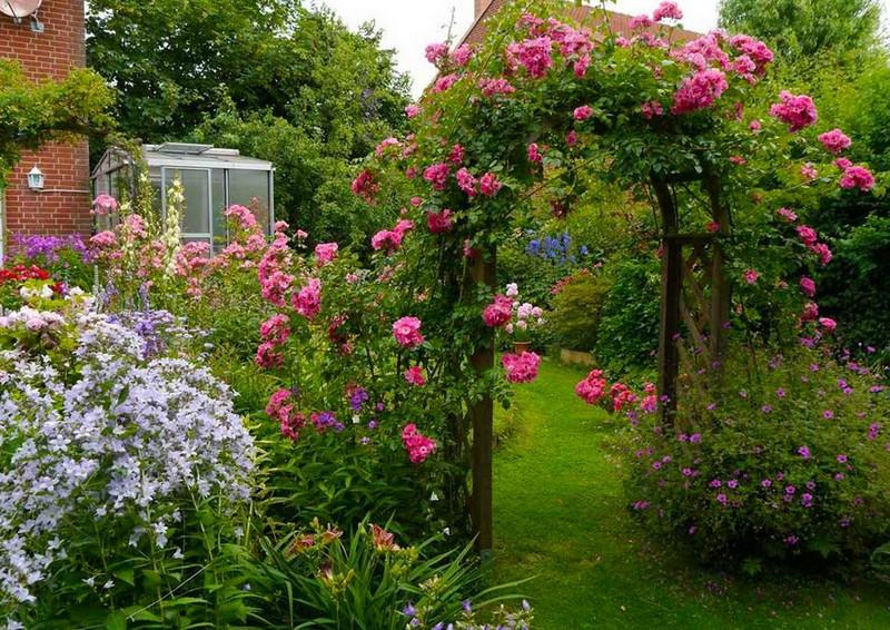 садовые арки фото